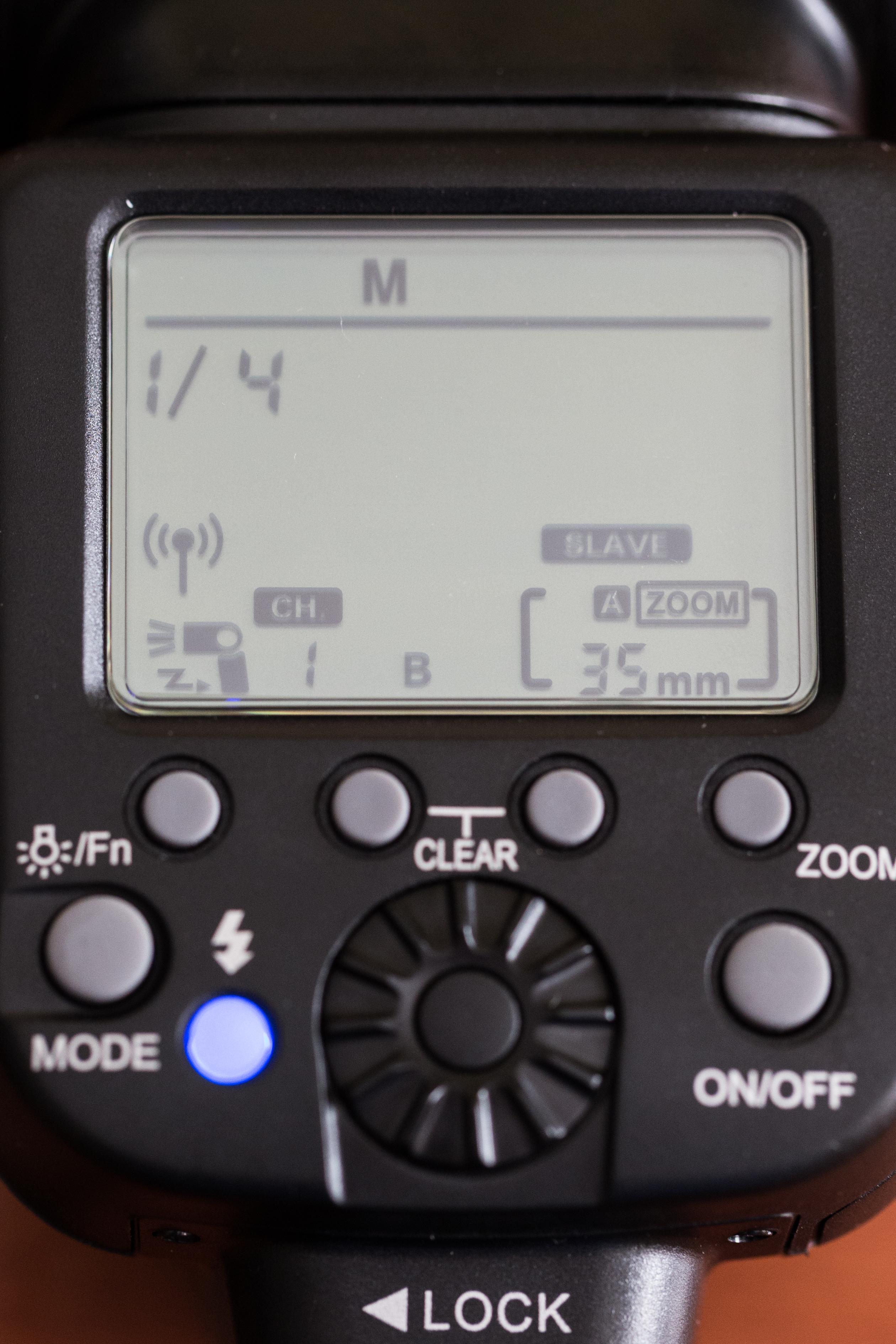 Configuración en Esclavo por Radio Frecuencia en el canal 1 y Grupo B programado a ¼ de Potencia