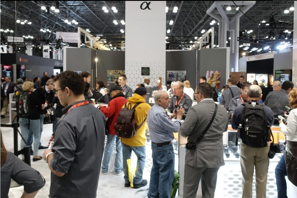 PhotoPlus Expo Nueva york stand Sony
