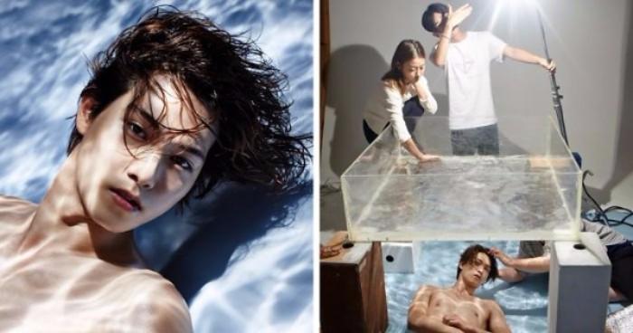 Fotos originales y creativas: Crear el efecto agua
