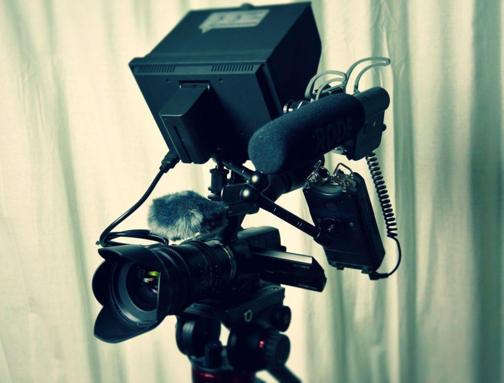 trípode de vídeo profesional