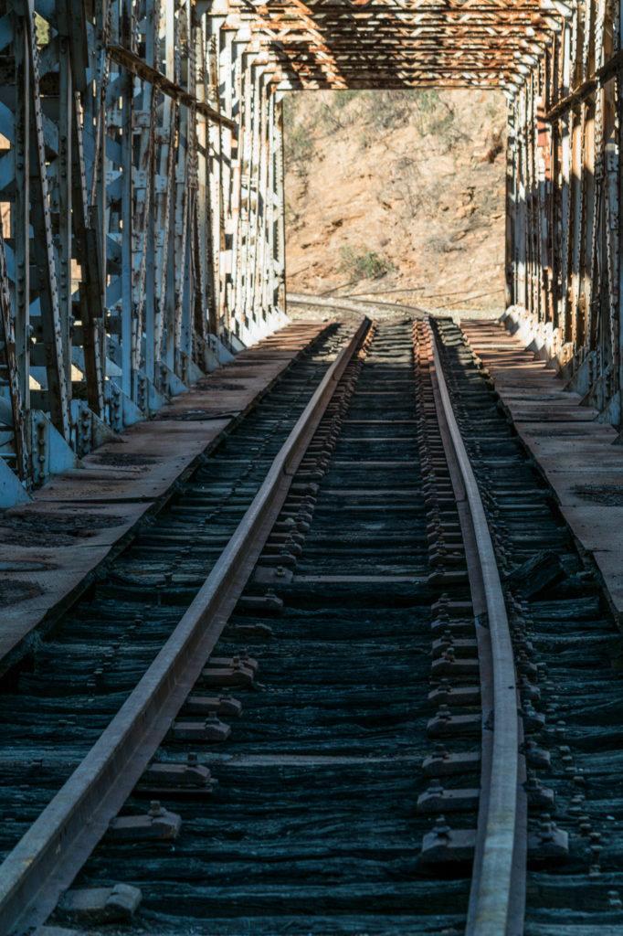 Teleobjetivo en fotografía de paisajes: Puente de Salomón con perspectiva comprimida