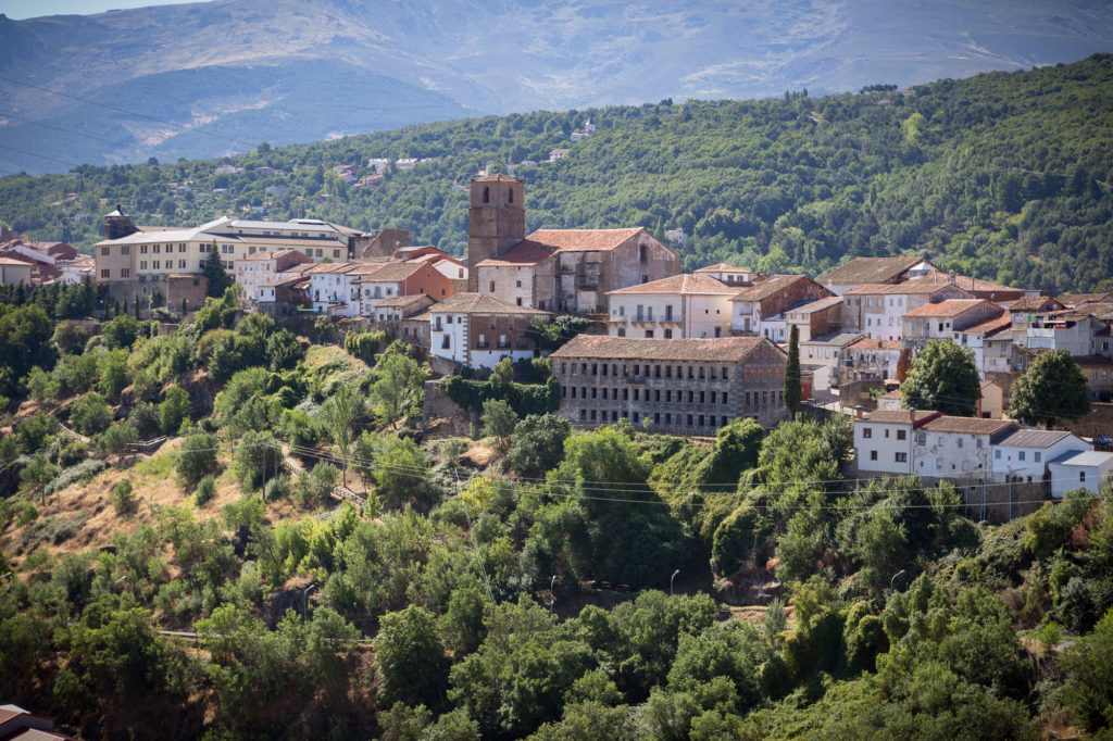 Teleobjetivo en fotografía de paisajes: Paisaje de Bejar
