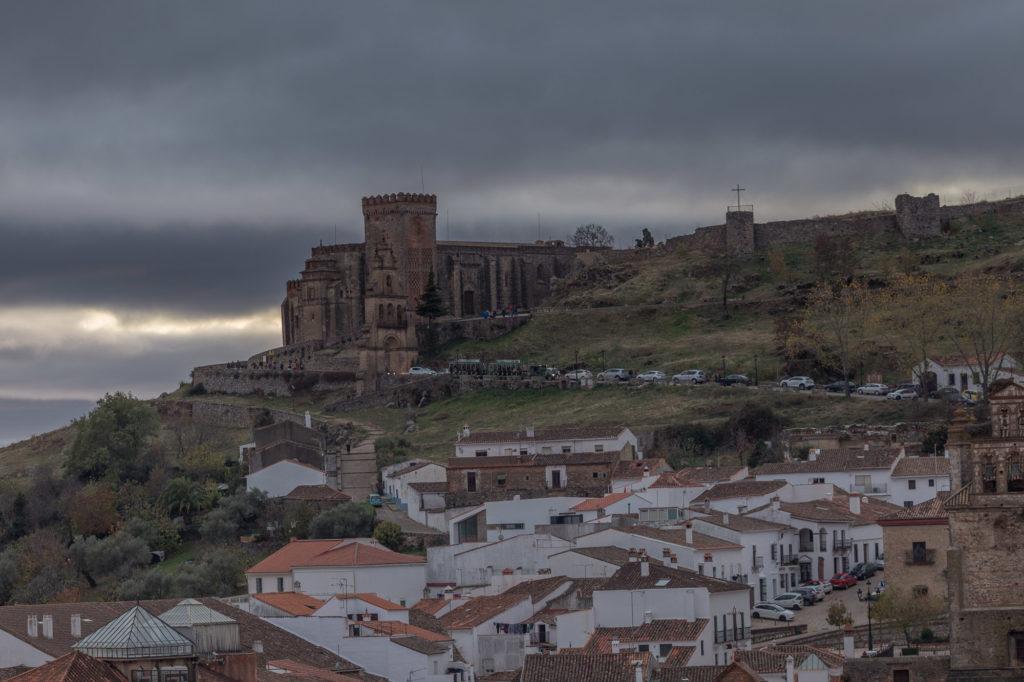 Teleobjetivo en fotografía de paisajes: Castillo con tele