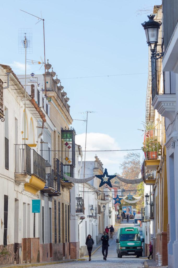 Teleobjetivo en fotografía de paisajes: Misma calle con tele