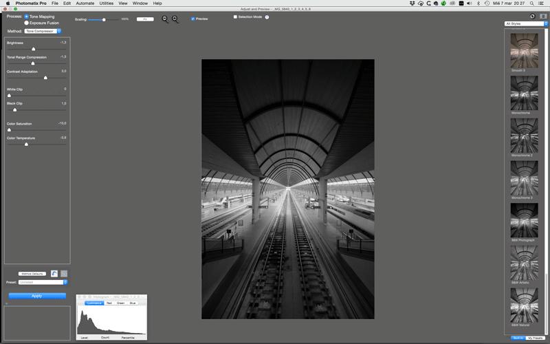 Comment prendre des photos HDR en noir et blanc