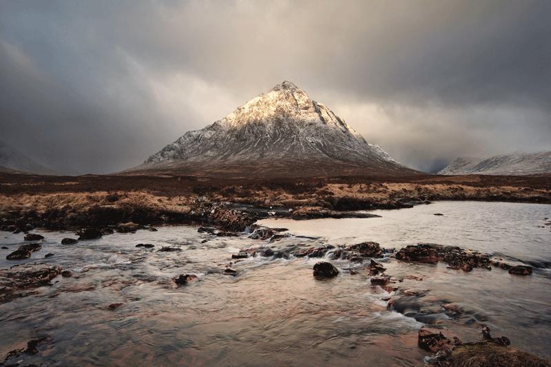 medición de luz en fotografía de paisaje