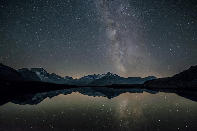 fotografía nocturna y medición de luz en fotografía