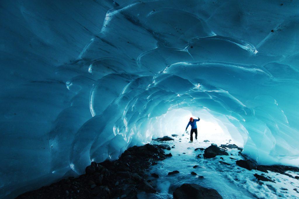 Lugares para fotografiar: Cueva de hielo de Vatnajökull. Islandia