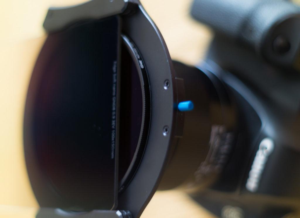 Combinación del Portafiltros Irix IFH-100 con un filtro circular Irix