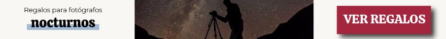 Regalos para fotógrafos según su modalidad: nocturnos