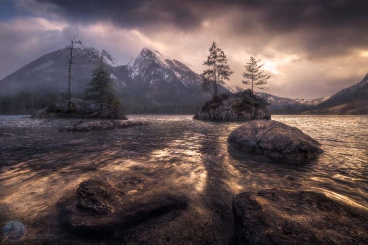 filtros graduales para fotografías de paisajes