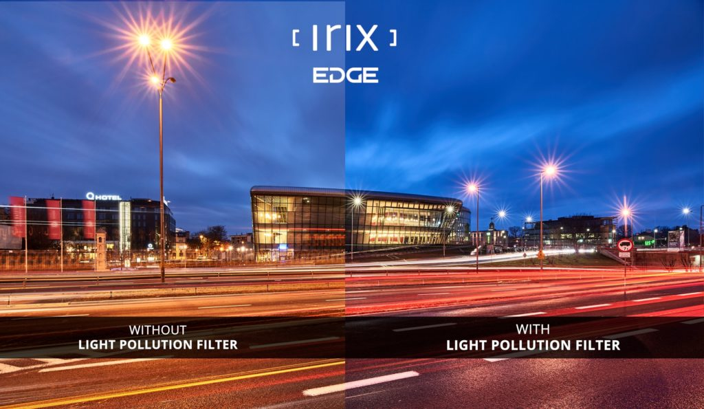 Filtre Irix Edge 100 contre la pollution lumineuse