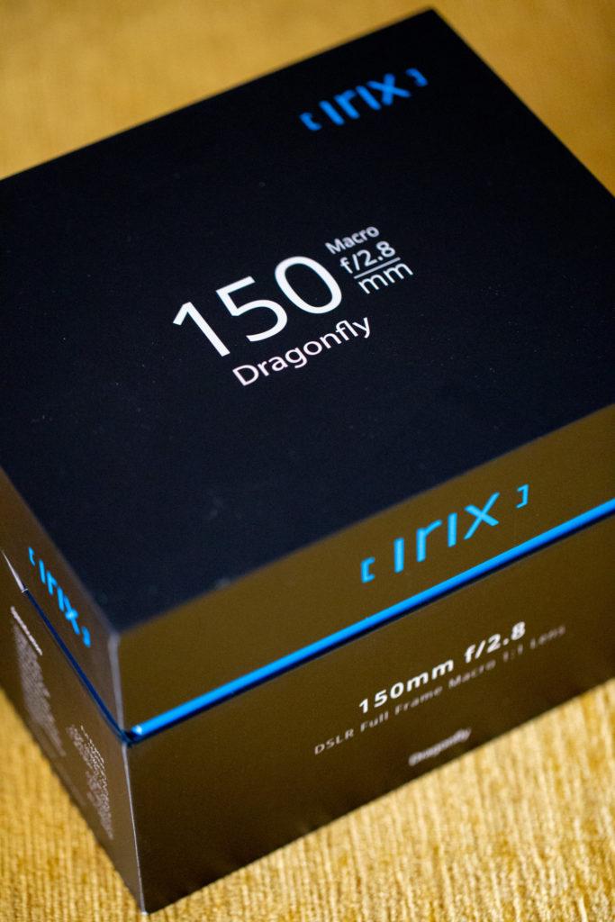 Irix 150 mm f/2.8 Macro Dragonfly : première prise de contact
