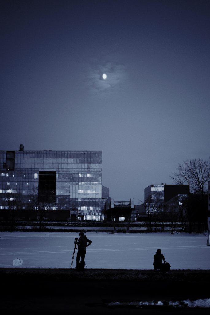 Dispara a la luna para enfocar en fotografía nocturna