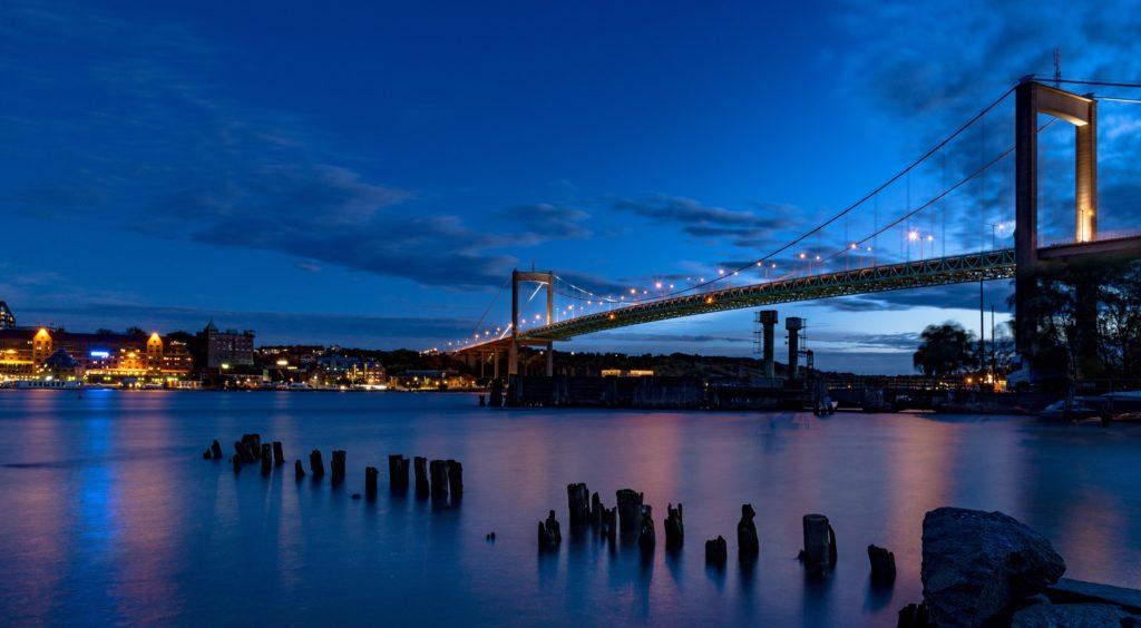 Cómo enfocar en fotografía nocturna: Ciudad
