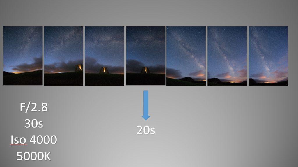 fotografía de paisaje en formato vertical