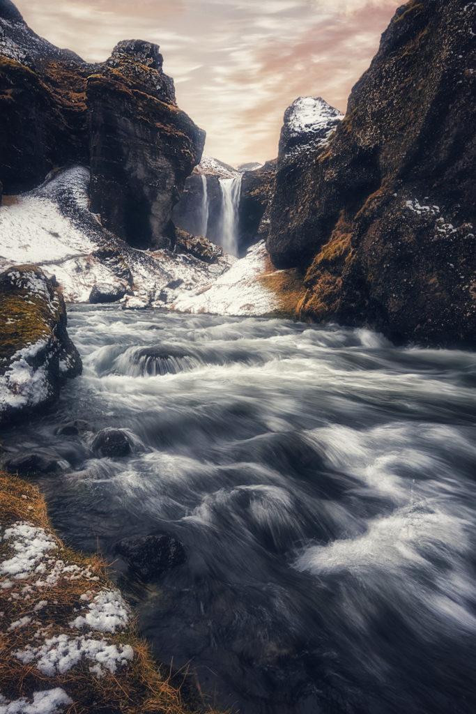 conseils pour photographier des cascades