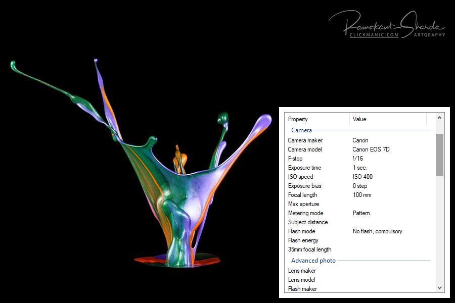 fotografías de alta velocidad con flash