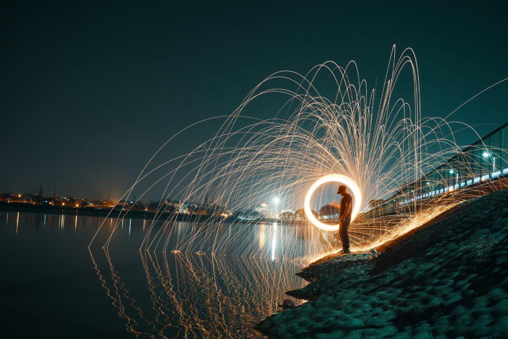 Enfoque automático para conseguir fotografías nítidas con lightpainting