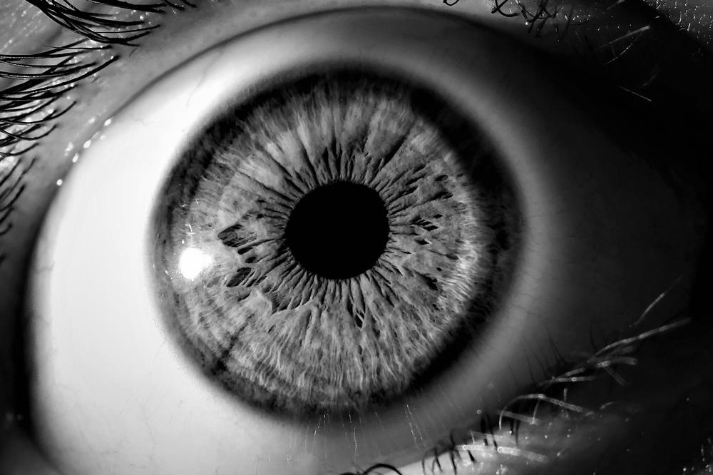 Fotos de ojos en blanco y negro