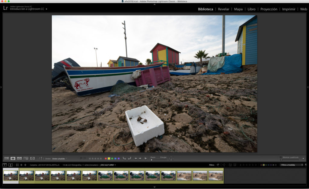 Lightroom pour le Focus Stacking