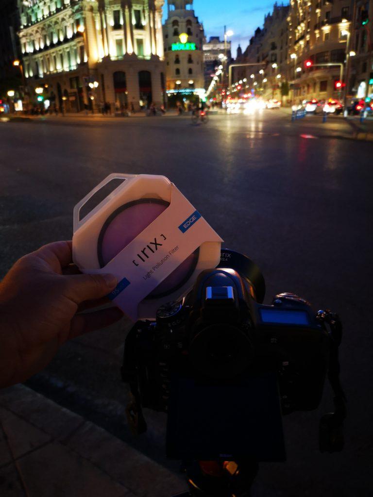 Le filtre Irix Edge anti-pollution lumineuse au banc d'essai