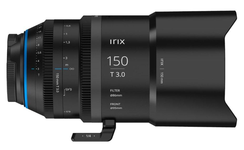 Nuevo Irix Cine 150mm T3.0