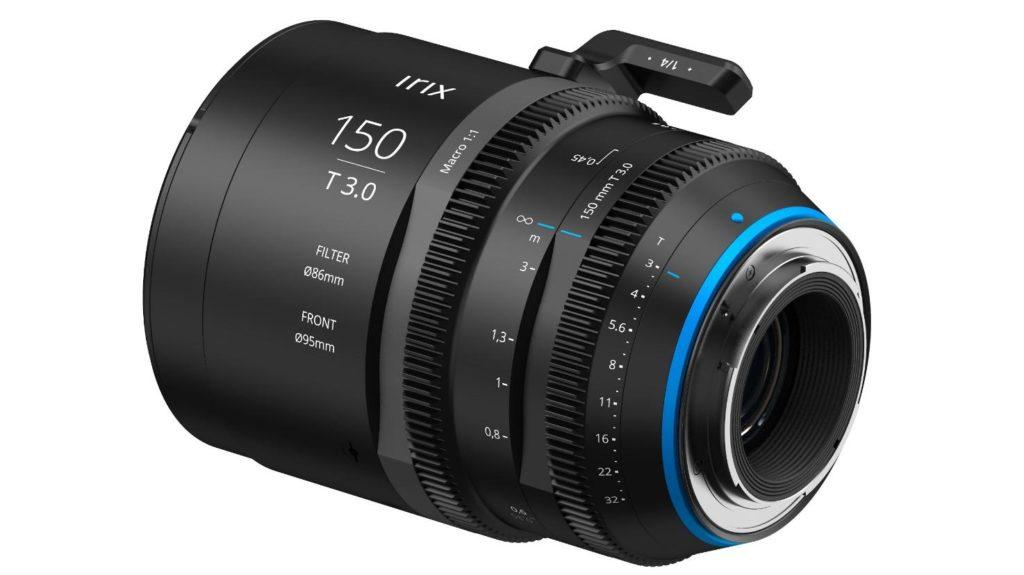 Diseño y construcción del Irix Cine 150mm T3.0