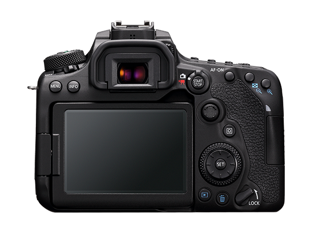 Design pratique des boutons du Canon EOS 90D