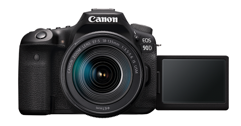 Écran tactile du Canon EOS 90D