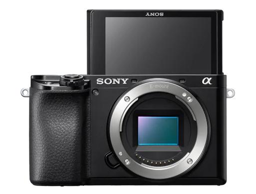 Sony A6100 avec un écran rabattable et tactile pour plus de confort d'utilisation