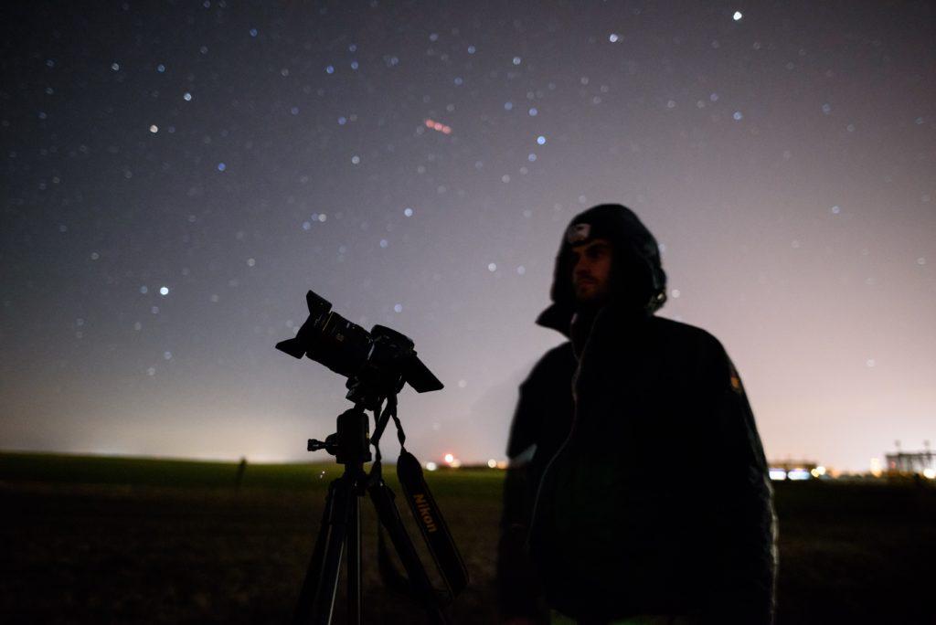 Trépied photo pour l'astrophotographie