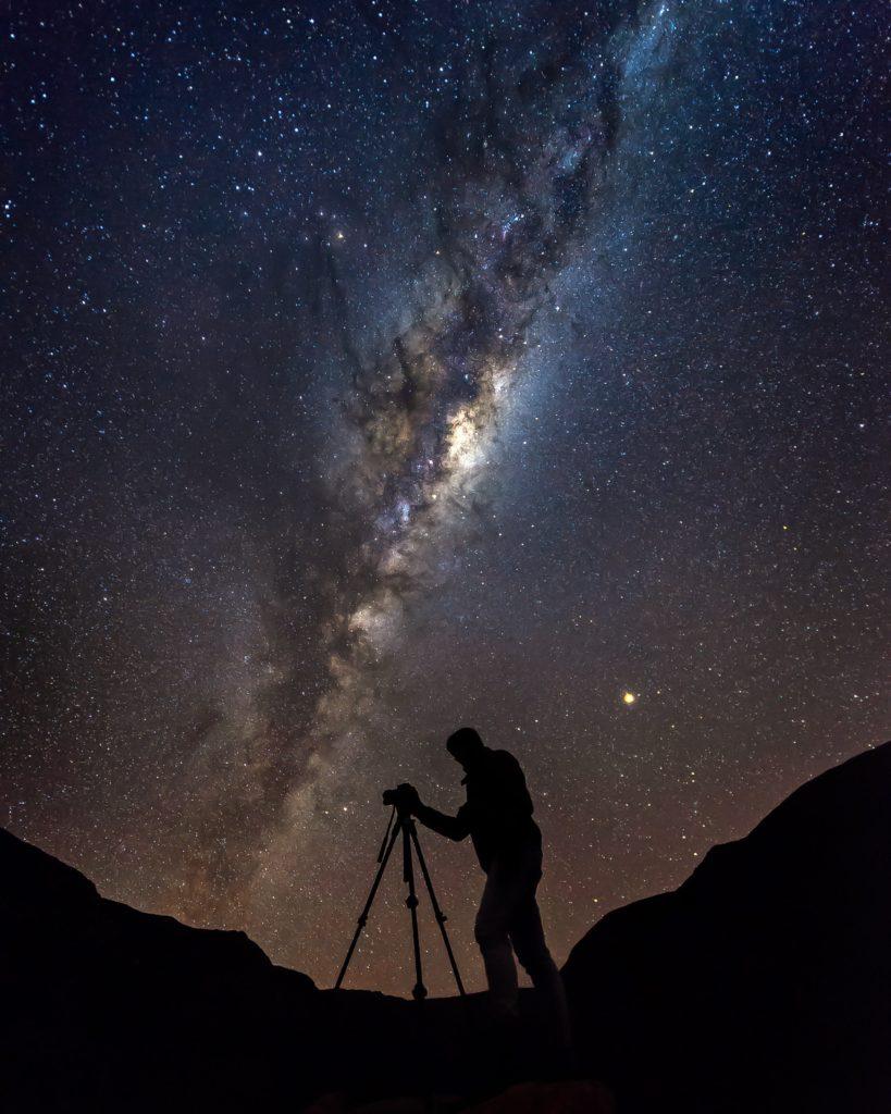 Trépied photo pour la photographie nocturne