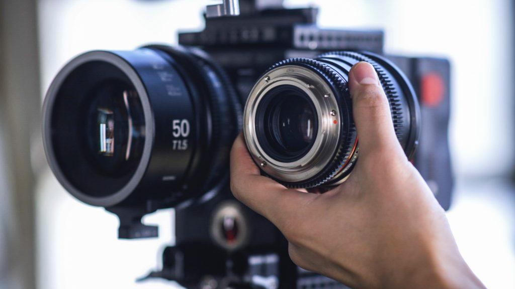 Objectifs professionnels et objectifs cinéma et photo