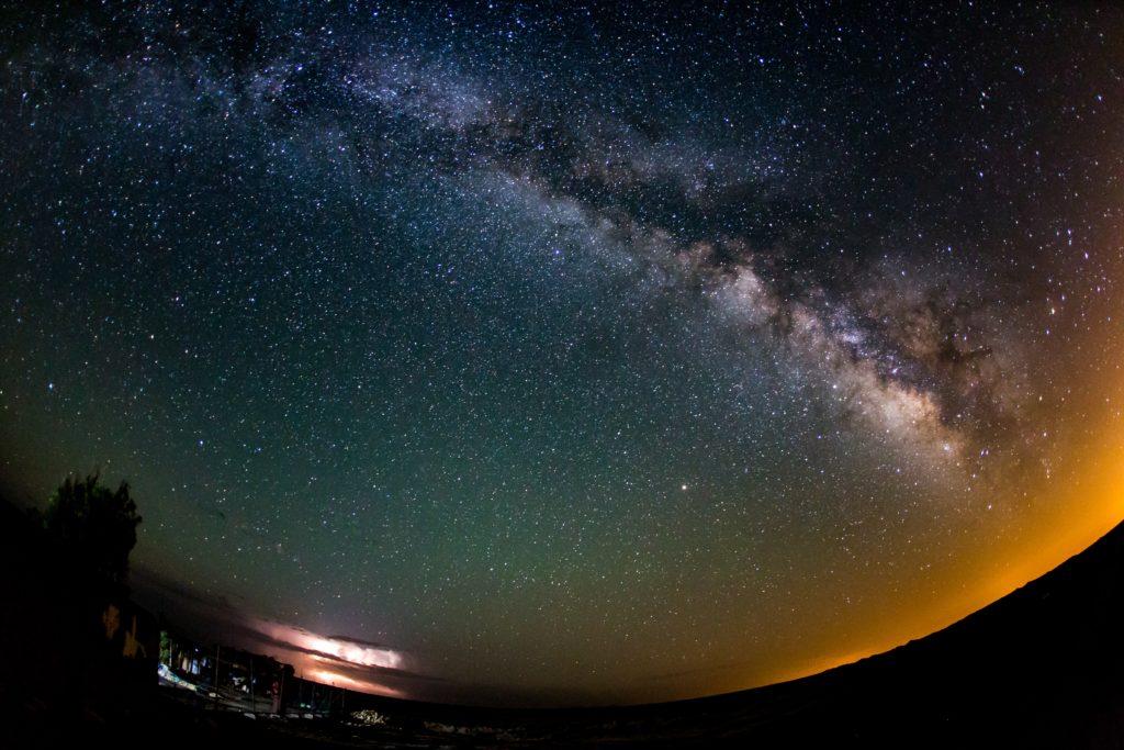 Objectifs fish eye pour la photographie d'étoiles
