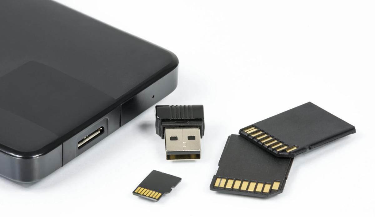 Las memorias de gran velocidad son accesorios básicos para vídeo