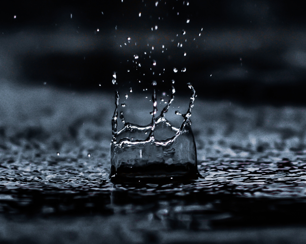 Figez les gouttes de pluie sur vos photos
