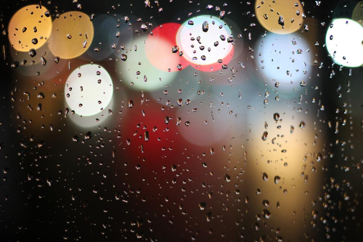 Puedes fotografiar la lluvia de forma artística
