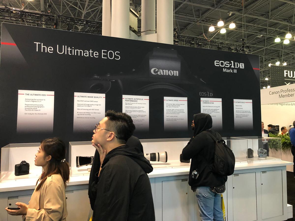 Canon présente le nouveau Canon EOS 1D X Mark III à PhotoPlus Expo 2019