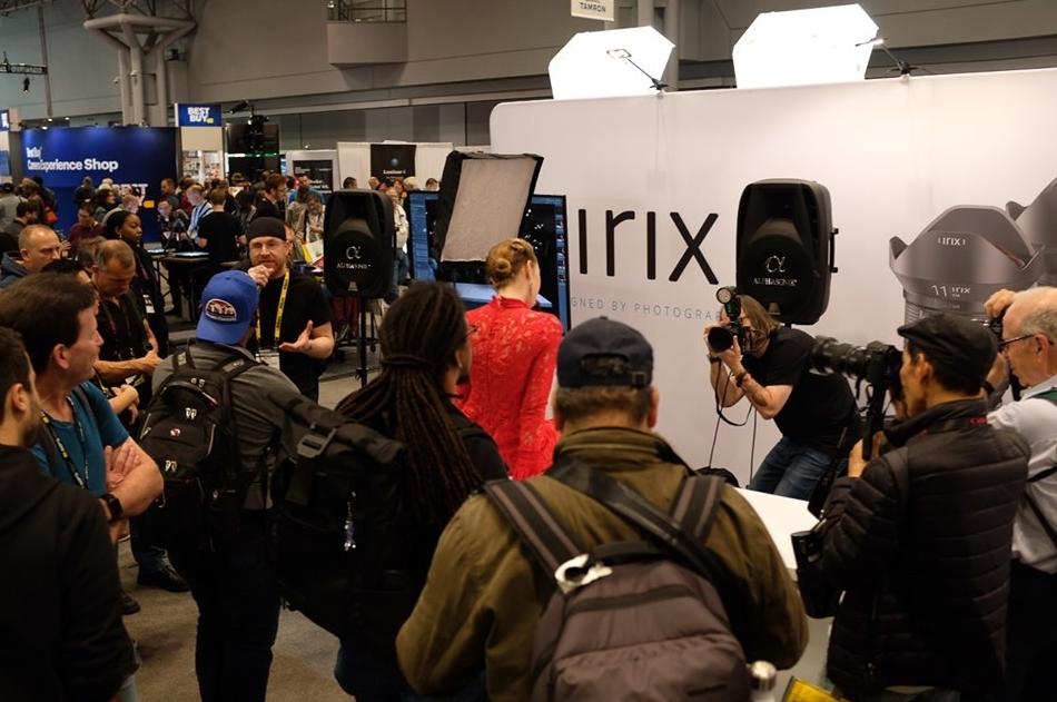 Stand Irix à PhotoPlus Expo 2019