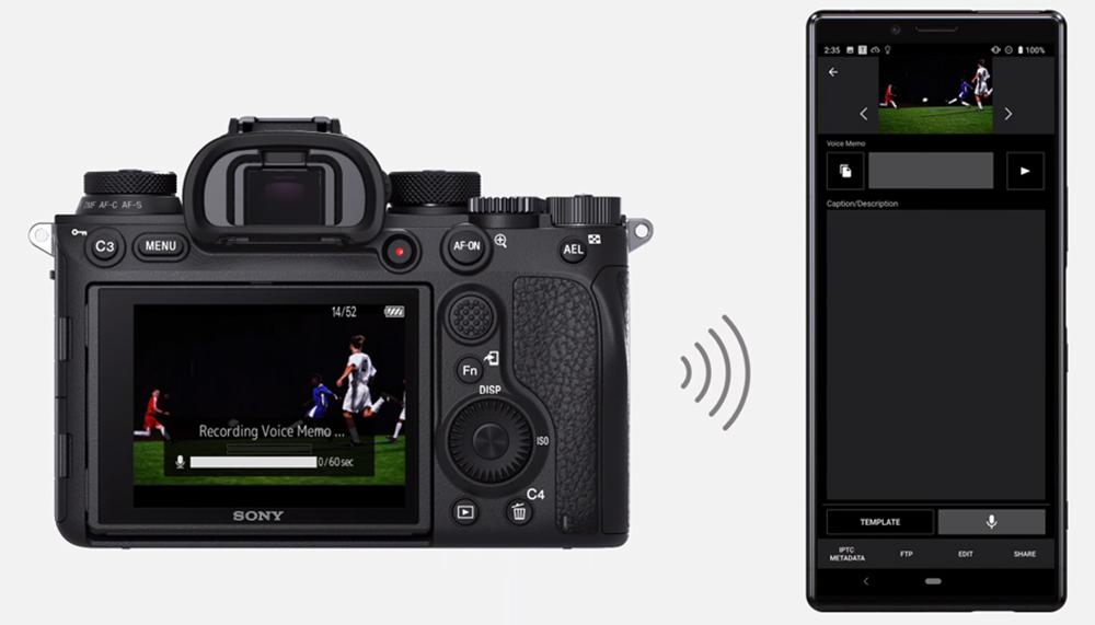 Con la Sony A9 II consigues transferencias más rápidas