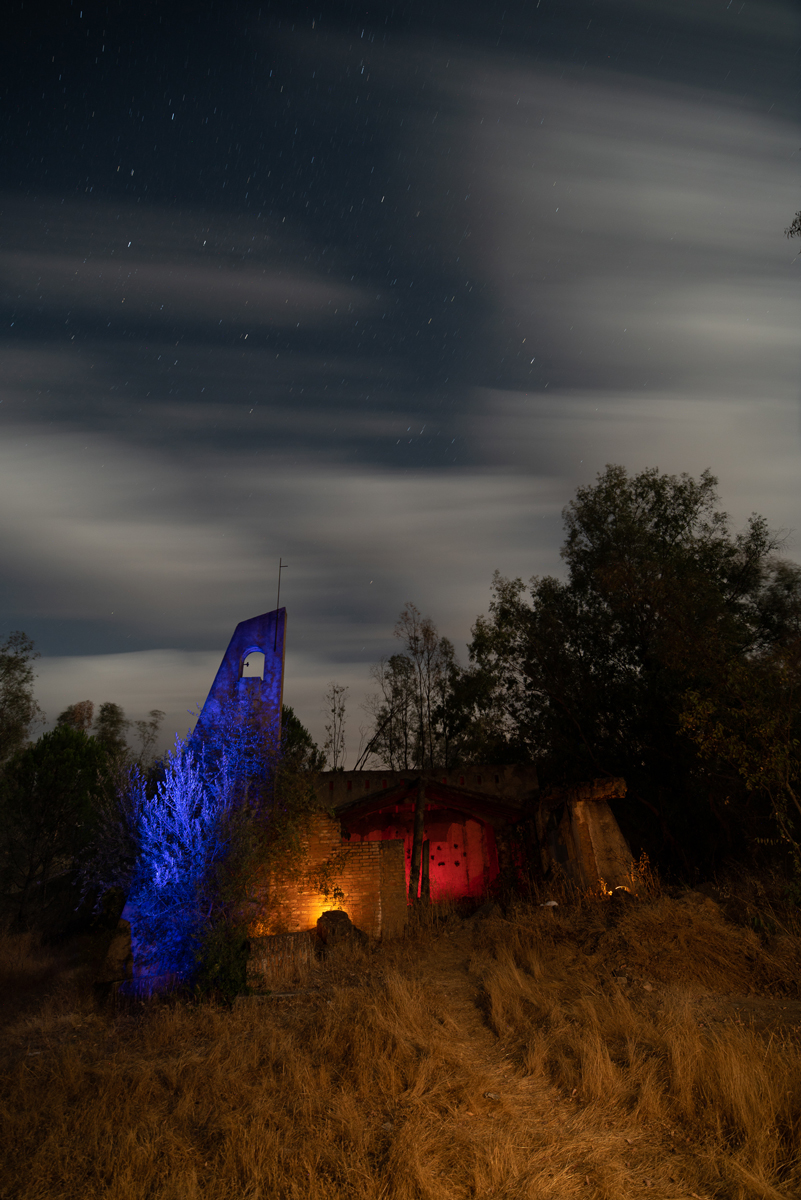 Piensa como usar la luz para conseguir lightpainting para Halloween