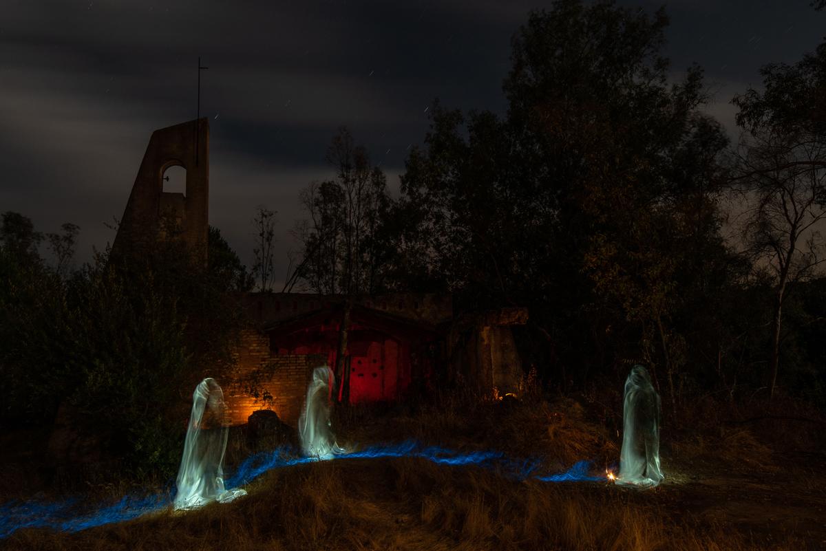 Las estelas también consiguen un efecto fantasmagórico