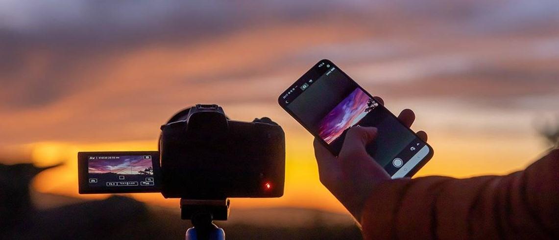 Contrôlez l'appareil photo à partir de votre smartphone