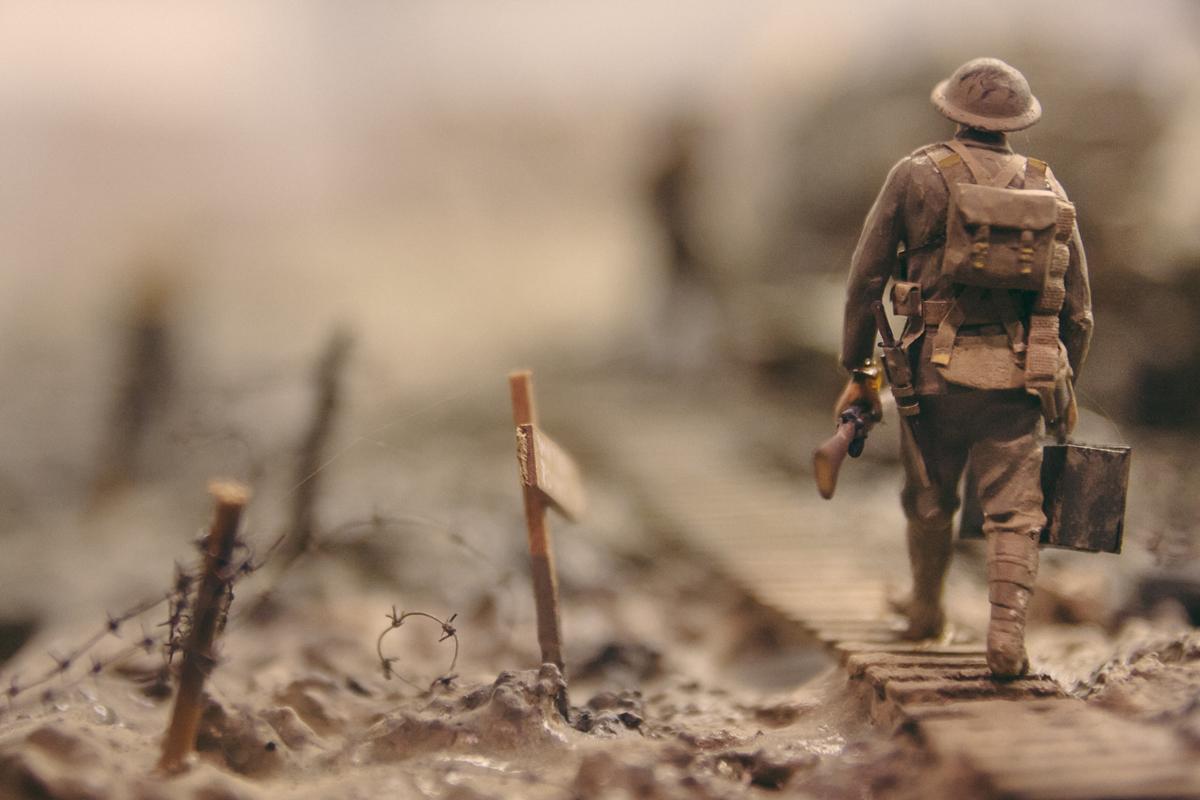 Cherchez des points de vue originaux sur vos photos de miniatures