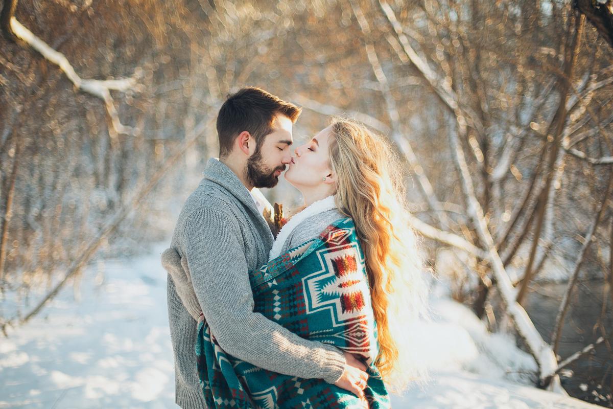 Un tendre baiser sur le nez