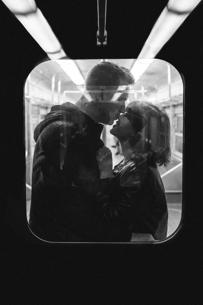 Photos de baisers originales dans un cadre