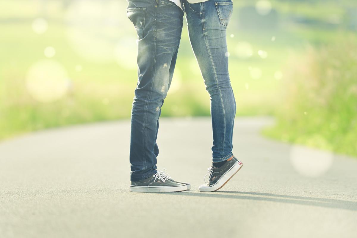 Photos de baisers originales qui se devinent