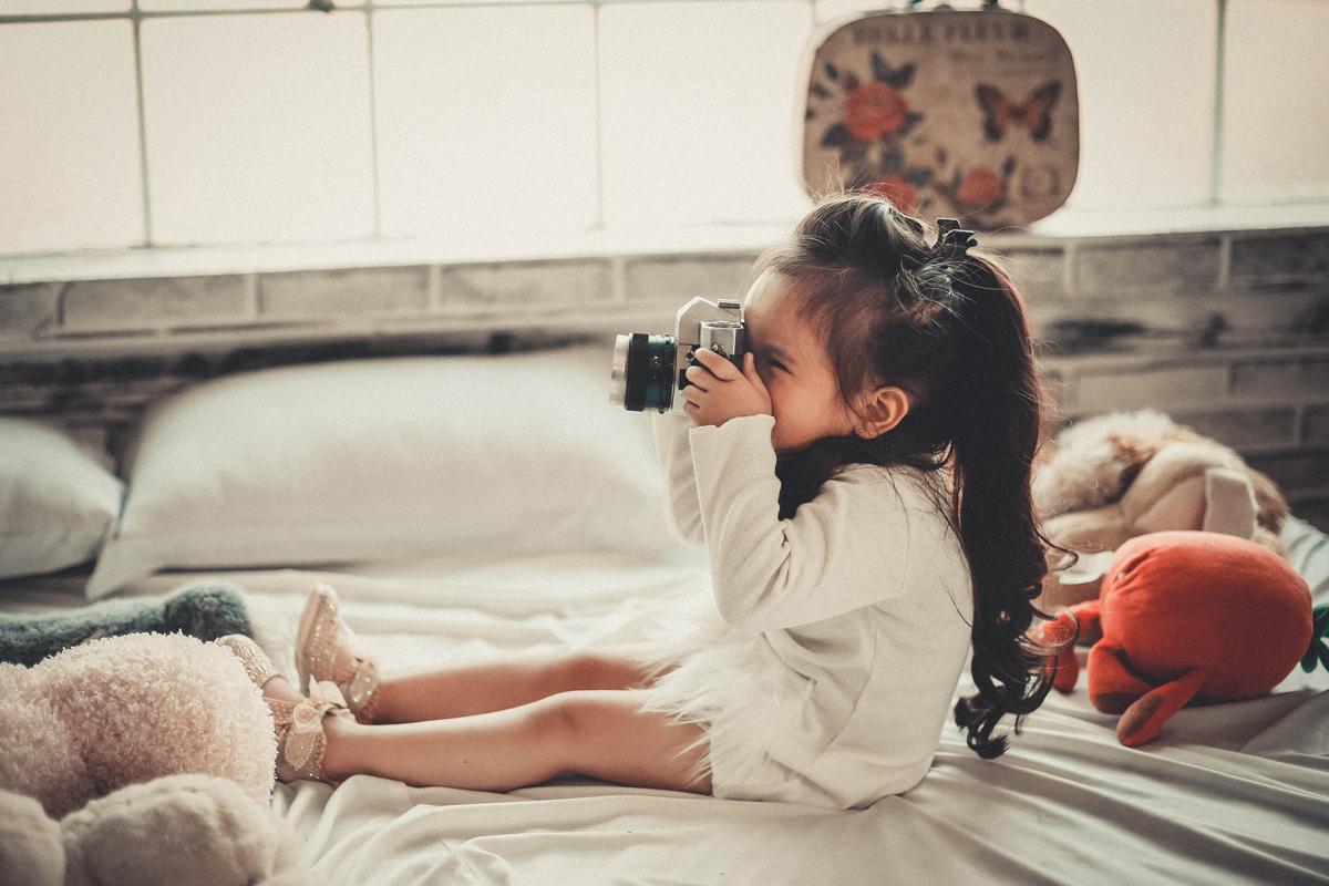 Con la fotografía para niños se pueden contar cuentos