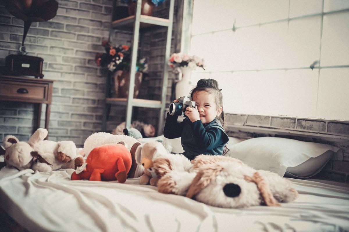 La fotografia para niños tienes que ser un juego